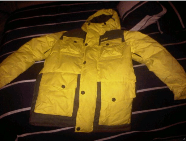 Selling a 2010 Phil Casabon Yellow Orage Jacket