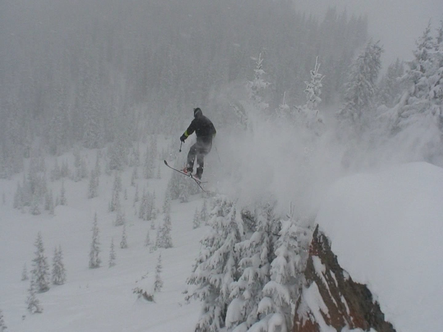 Going huge at vail