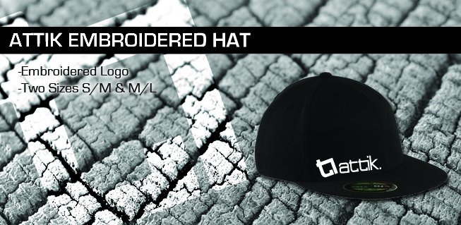 New Attik Embroidered hat