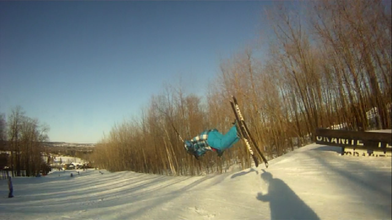 Continued front flip