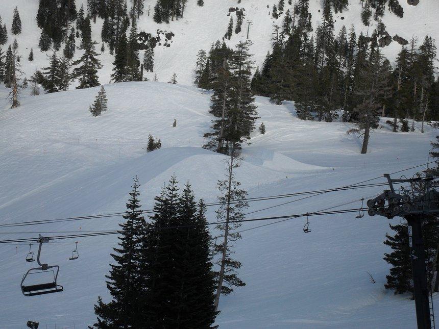Last jump Alpine