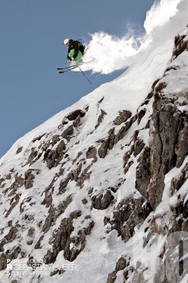Arlberg Cliff Drop | March 2011