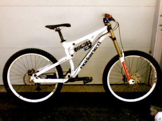 My Downhill bike