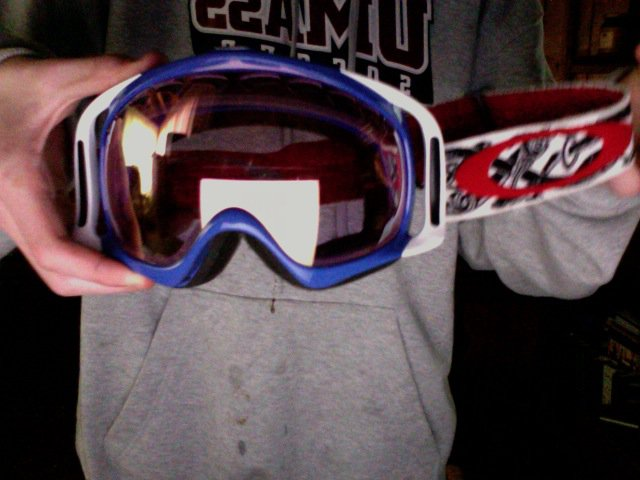 Oakley C bars with pink ird