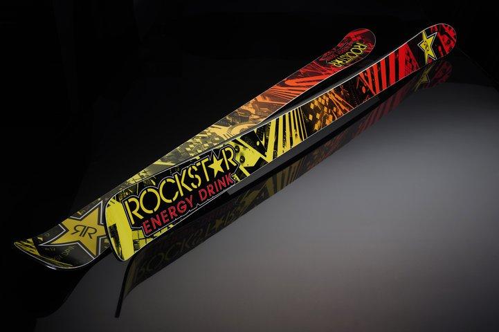 Klint Limited Edition Prime Rockstar Energy Ski 2011-12