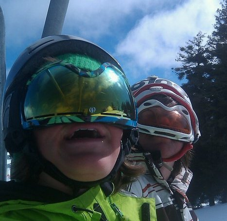 Backwards helmet upside down goggle dayz