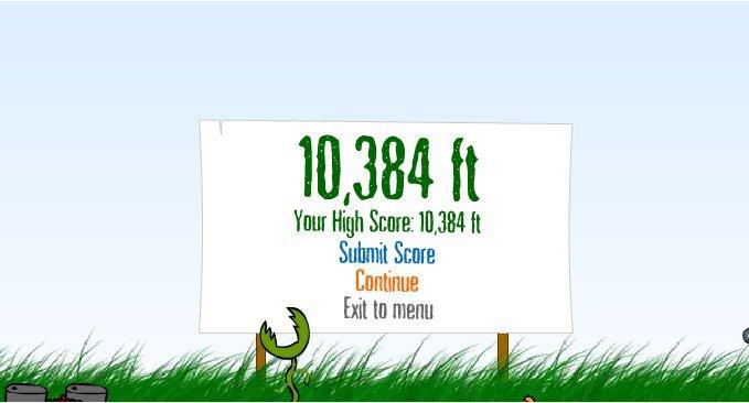 My high score