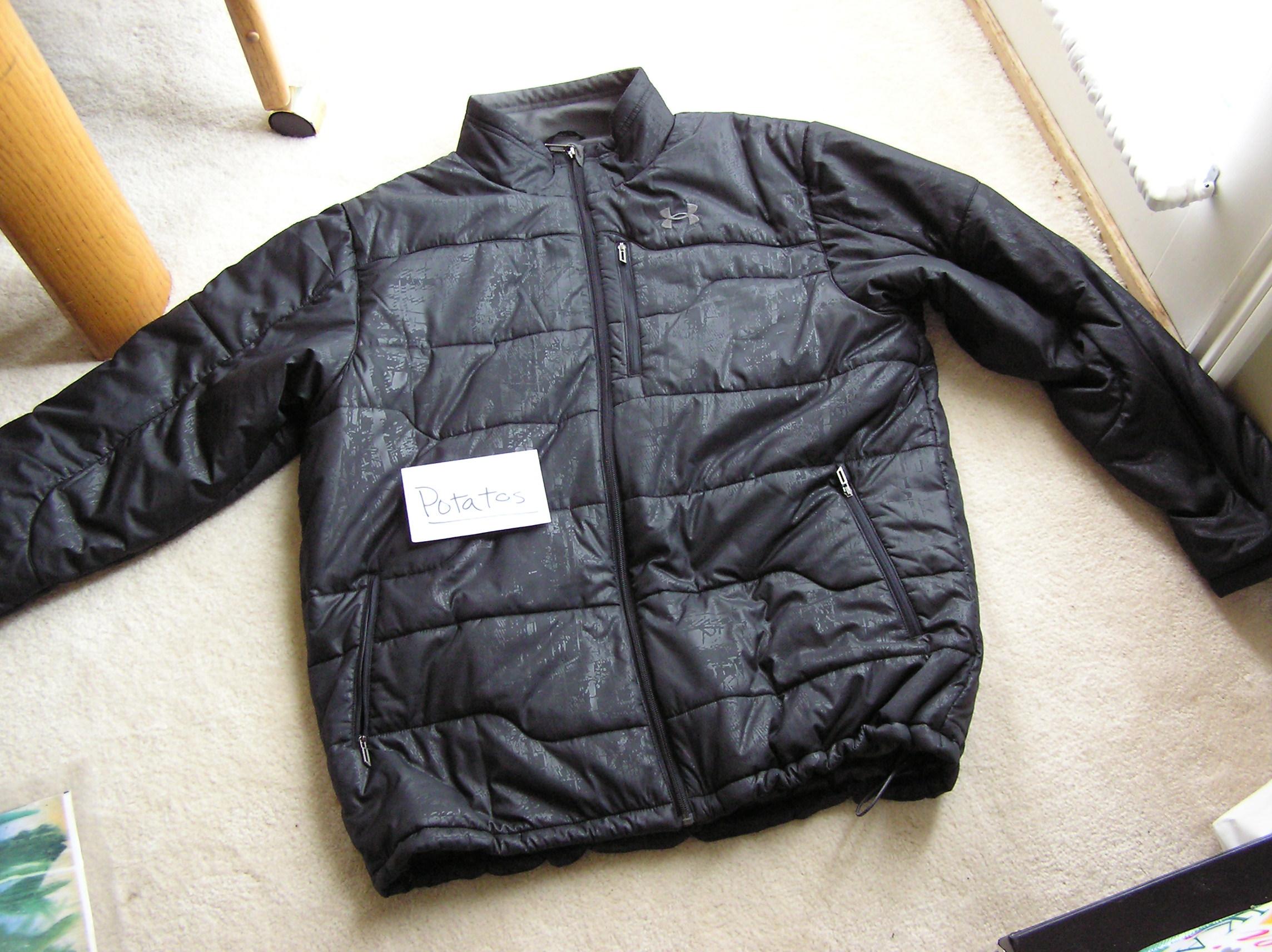 Xl under armor jacket