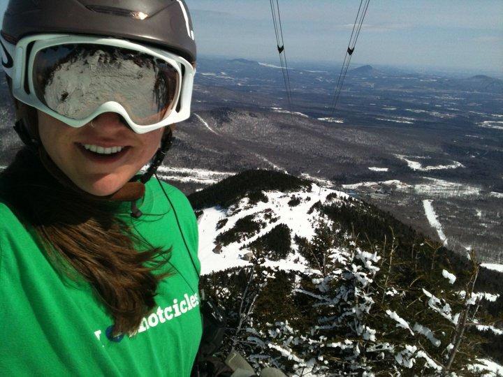 Jay peak, face chute!