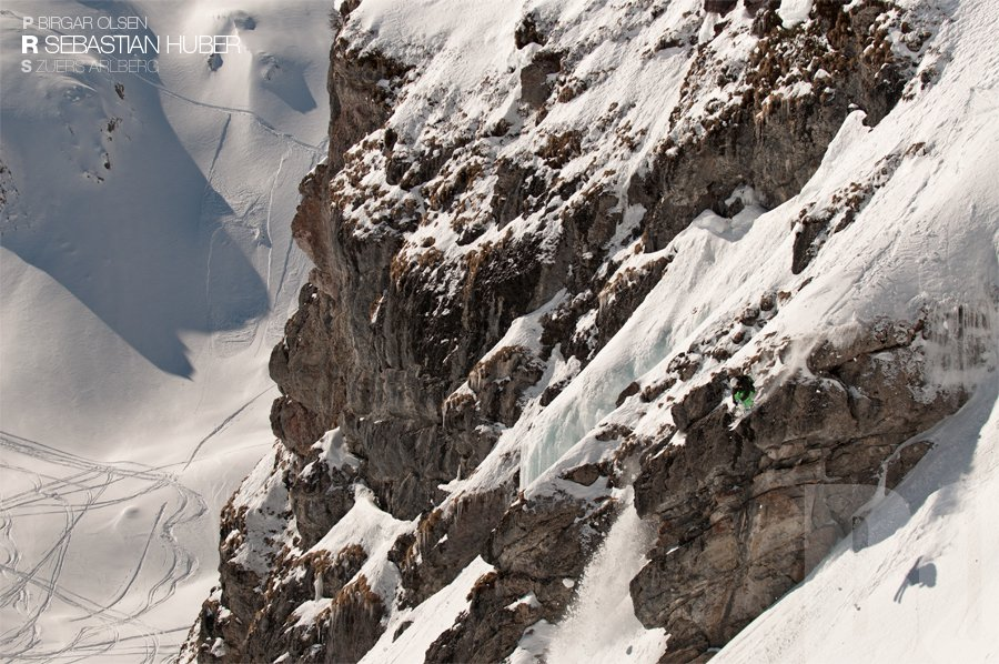 Cliff Dropping at Arlberg