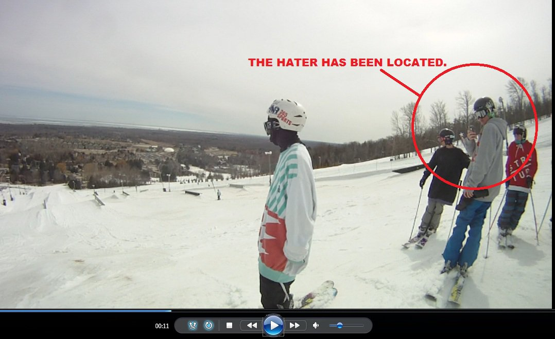 THE HATER WAS FOUND!
