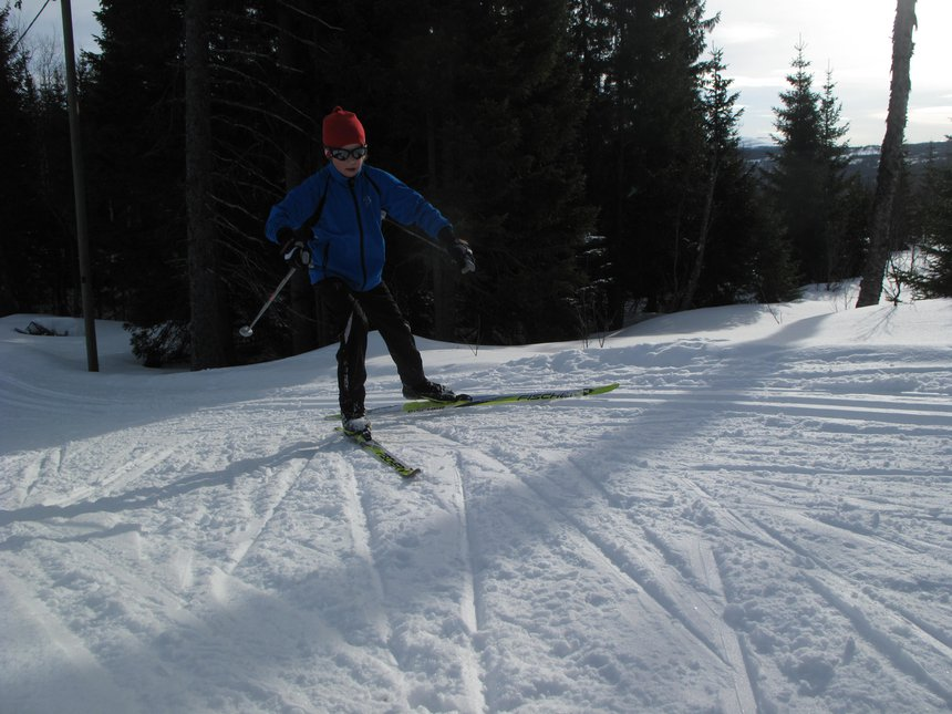 Cross contry skiing