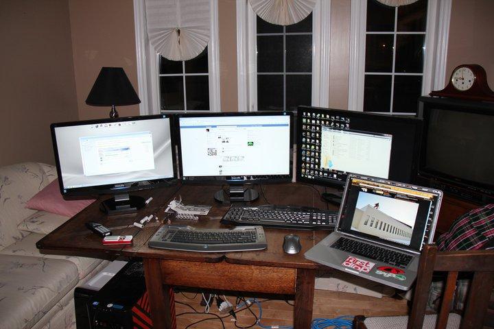 Editing setup.