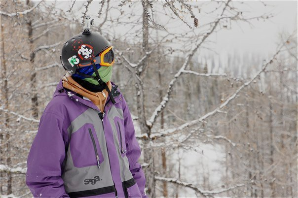 Going pro in the Lake Louise backcountry