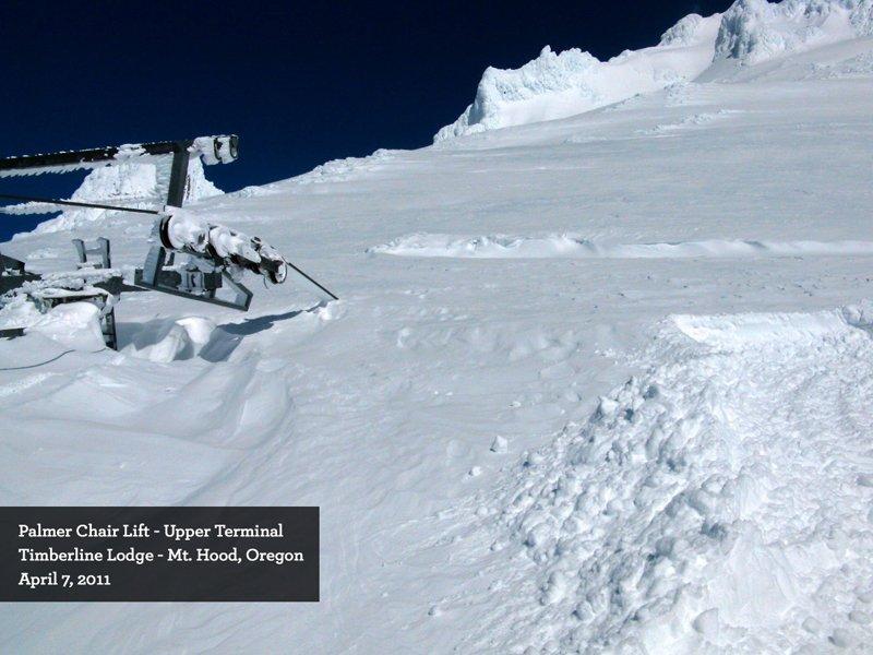 World Record Snowfall for Mt. Hood