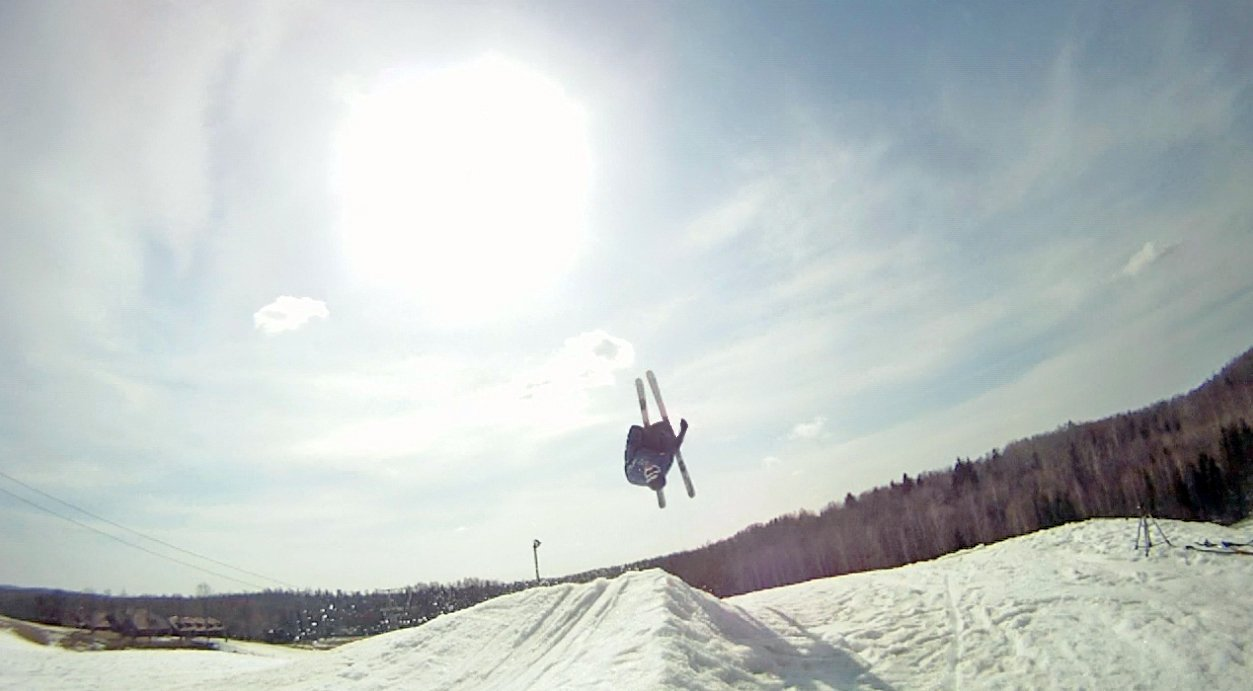 My second backflip