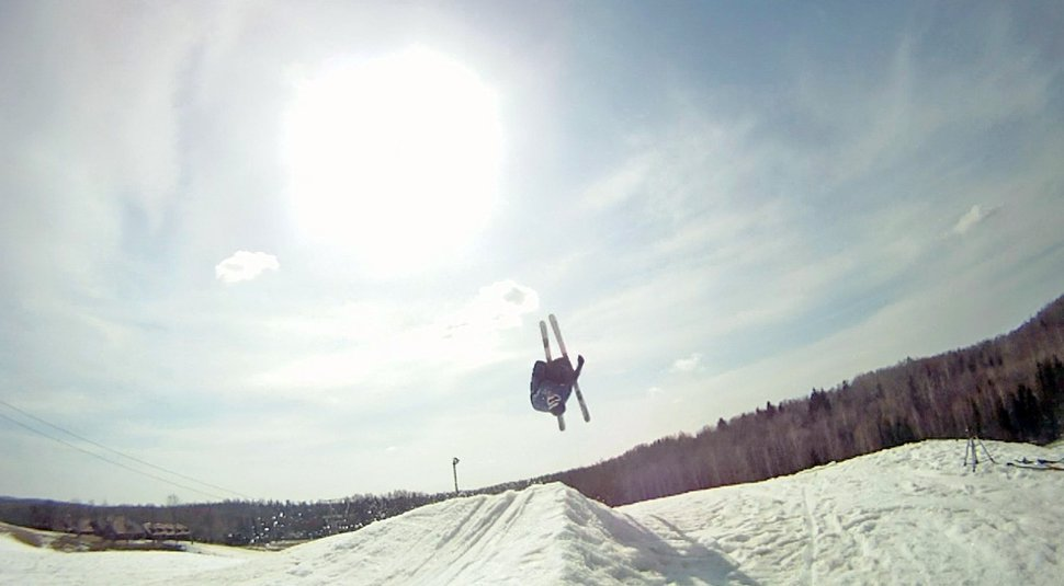 My second backflip