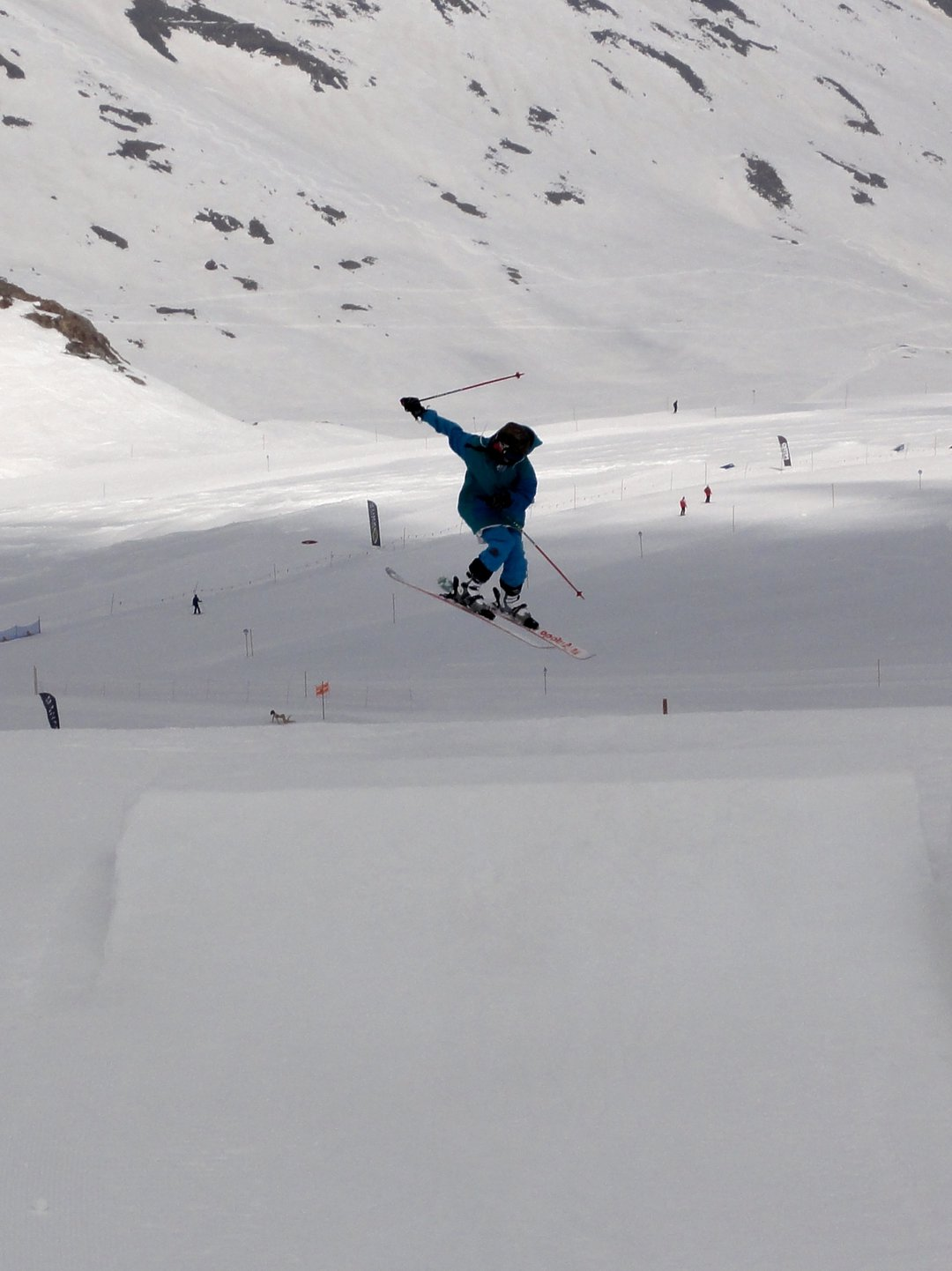 Hitting some jumps