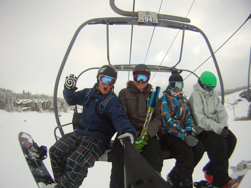 Early Season at Breck with the Roomies
