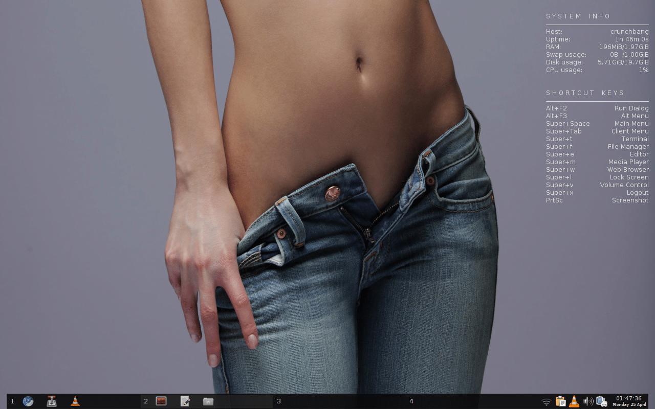 Desktop thread