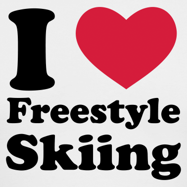 I LOVE freestyle skiing