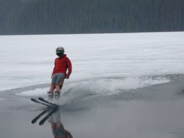 Skiing on Water
