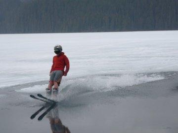 Skiing on Water