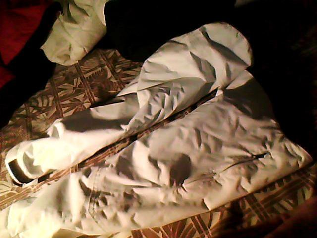 White sleeves