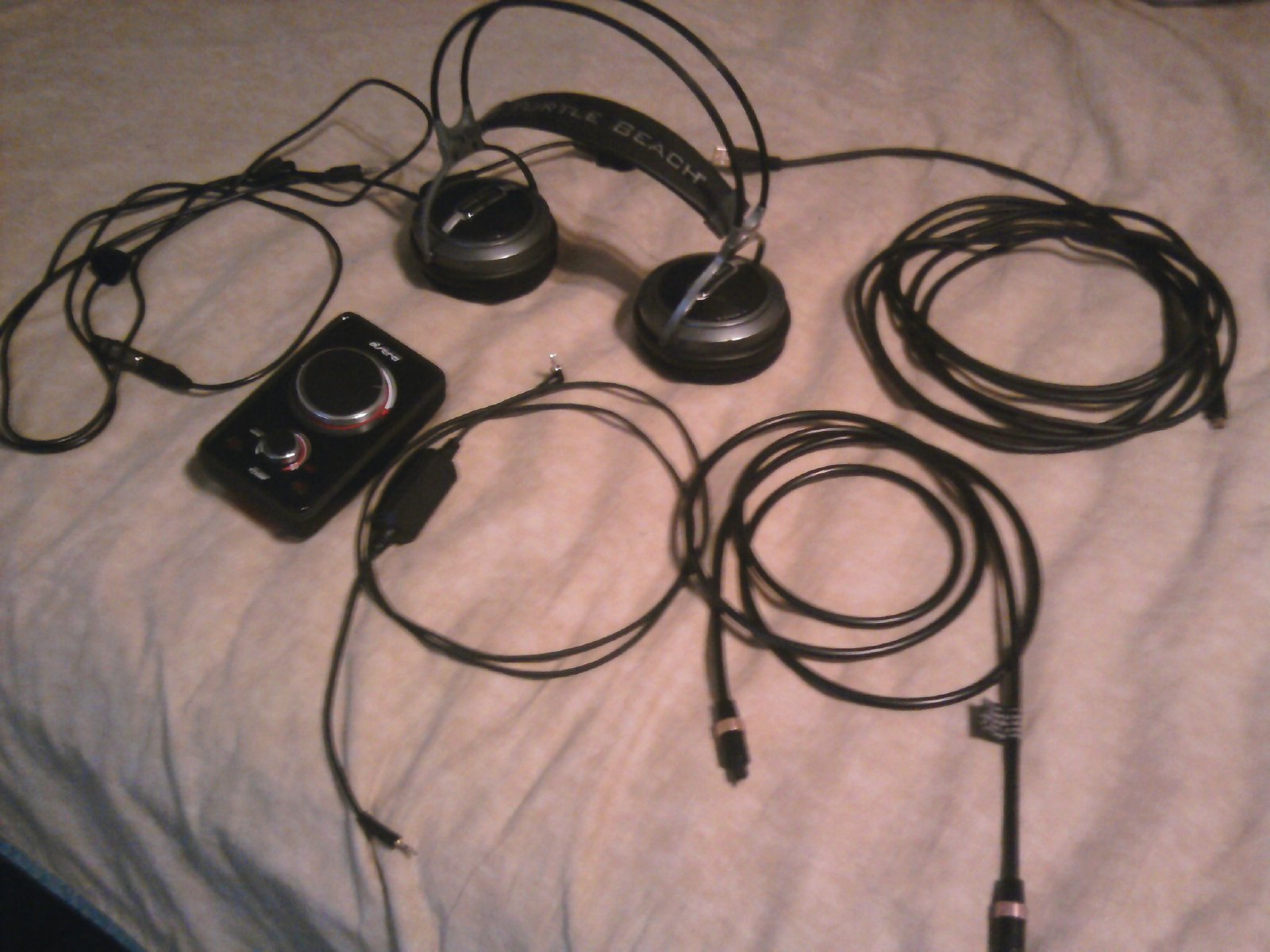Turtlebeach HPX and astormix amp