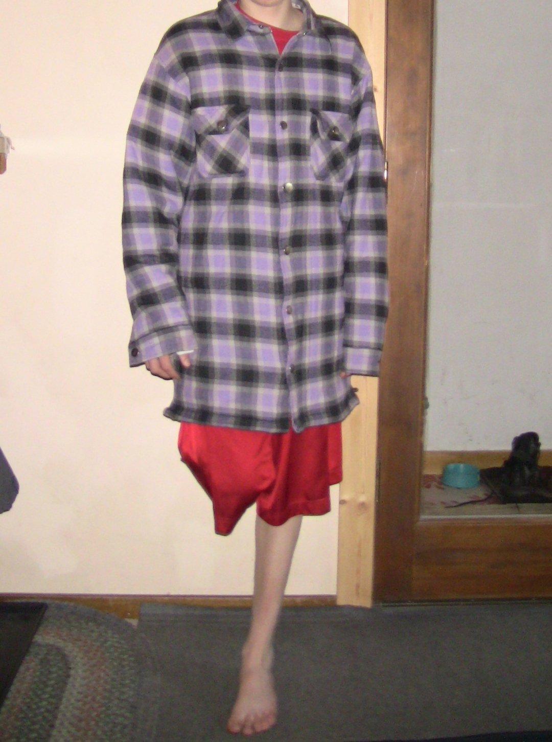 4xl royal flannel