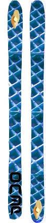 Blue waffle skis (worst topsheet)