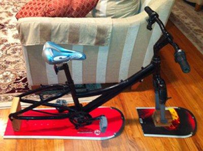 Smaller Ski Bike