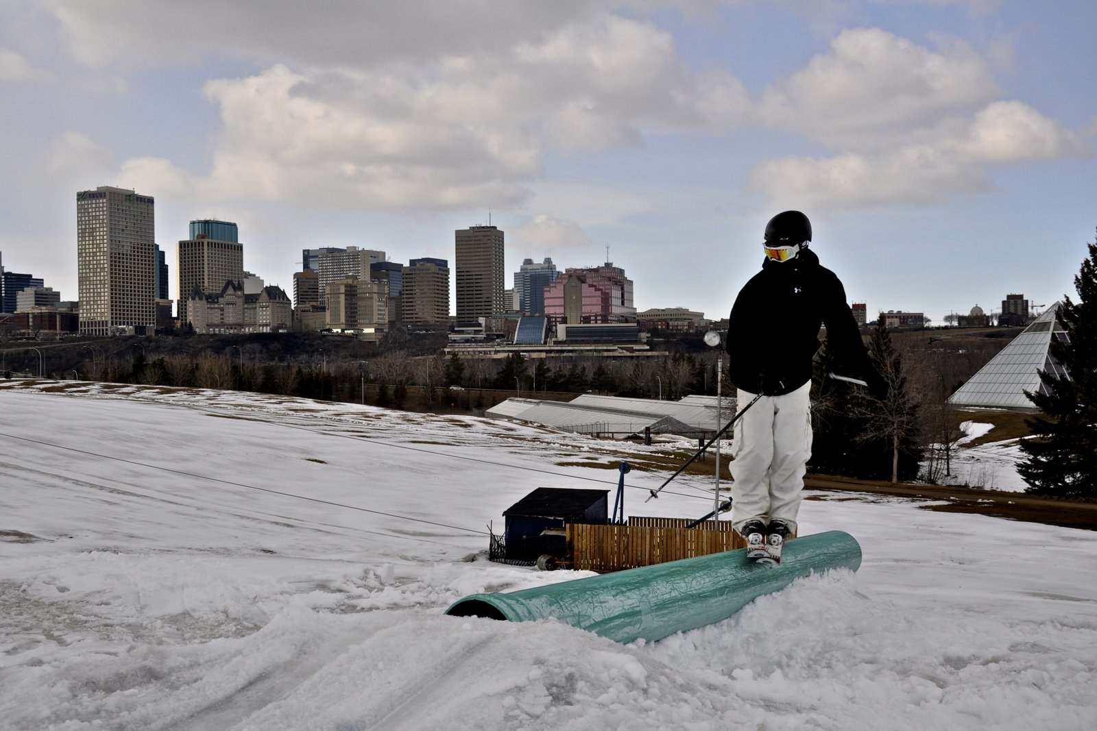 Late season ski