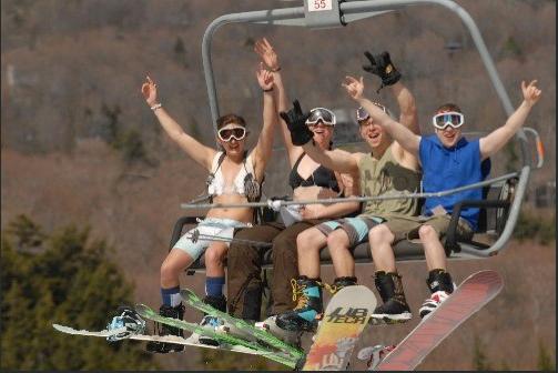 Suga'bushes free skiing