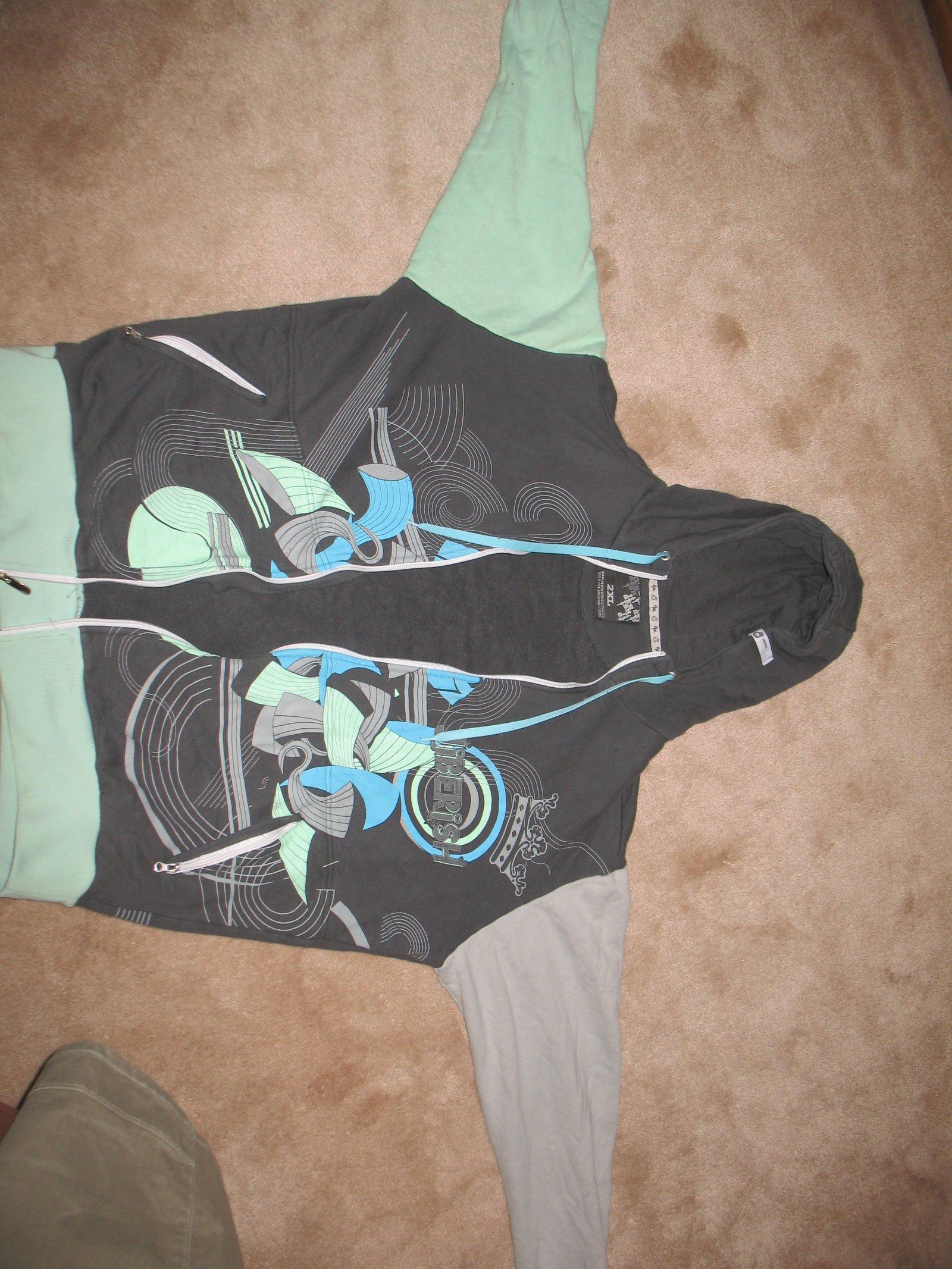 Twisted jiberish hoodie