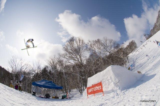 Yohei Sasaki at Hanazono ski resort