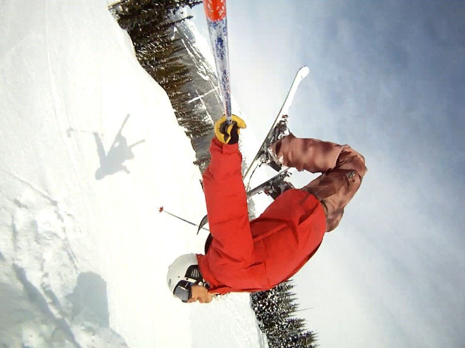 Backflip with a Gopro
