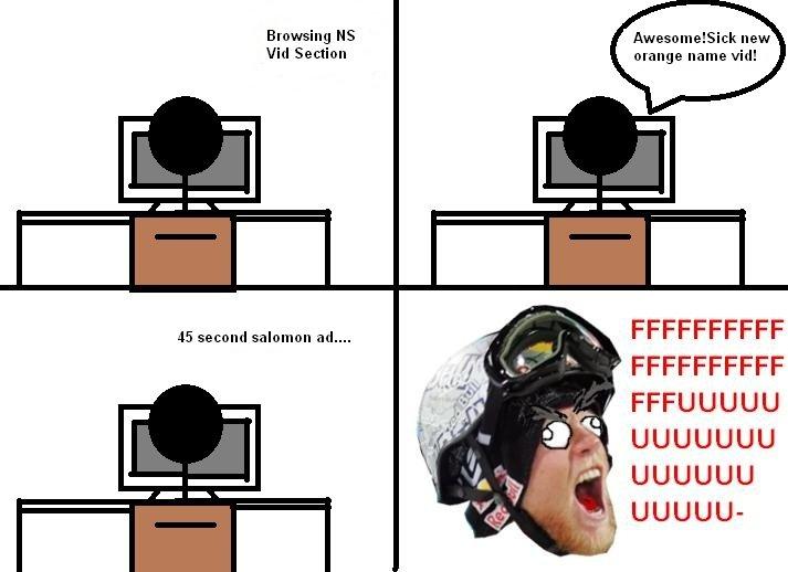 My Own Rage of Freeskier