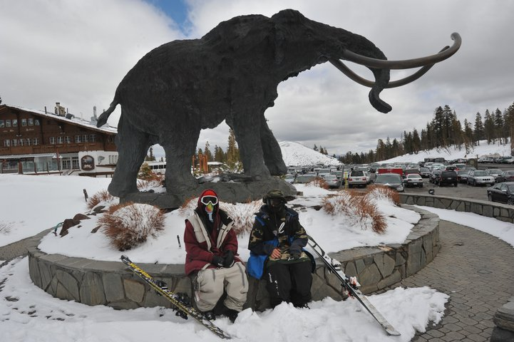 Guess who's filming in Mammoth