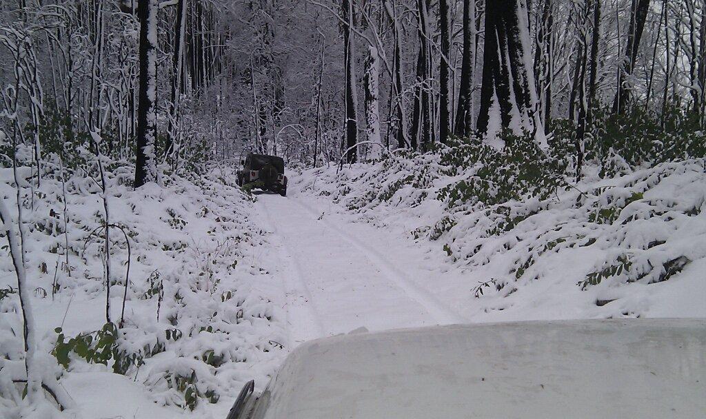Snow in May in Australia
