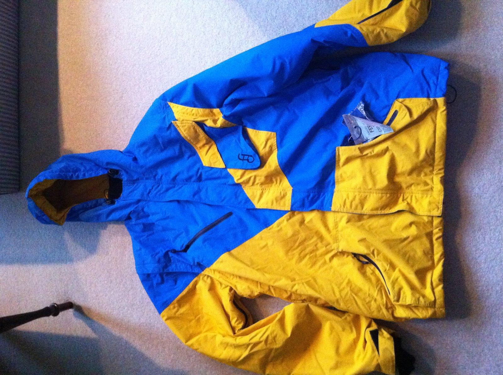 XL first drop coat