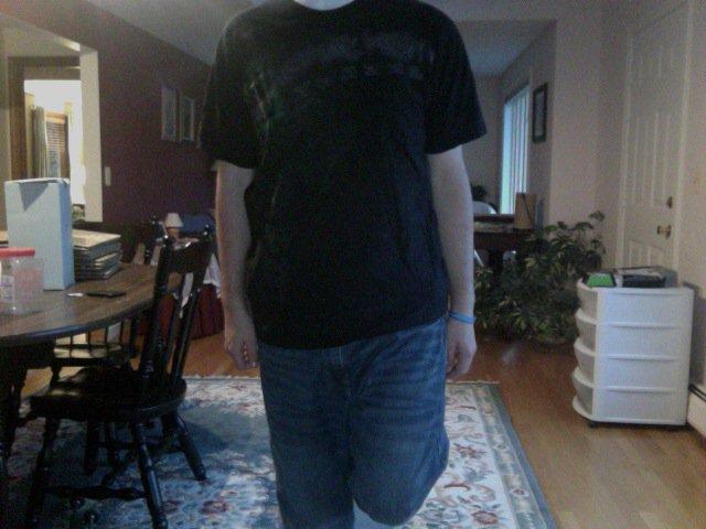 Monster shirt - large