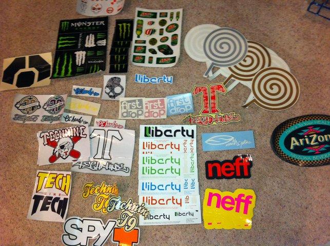 $2 stickers