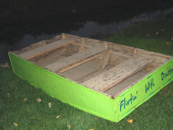 Homemade Boat