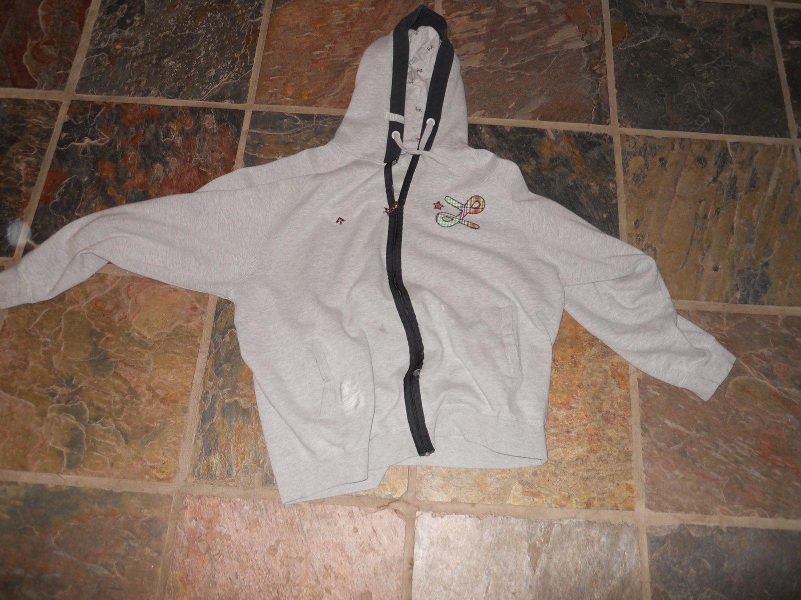 Lrg gray hoodie