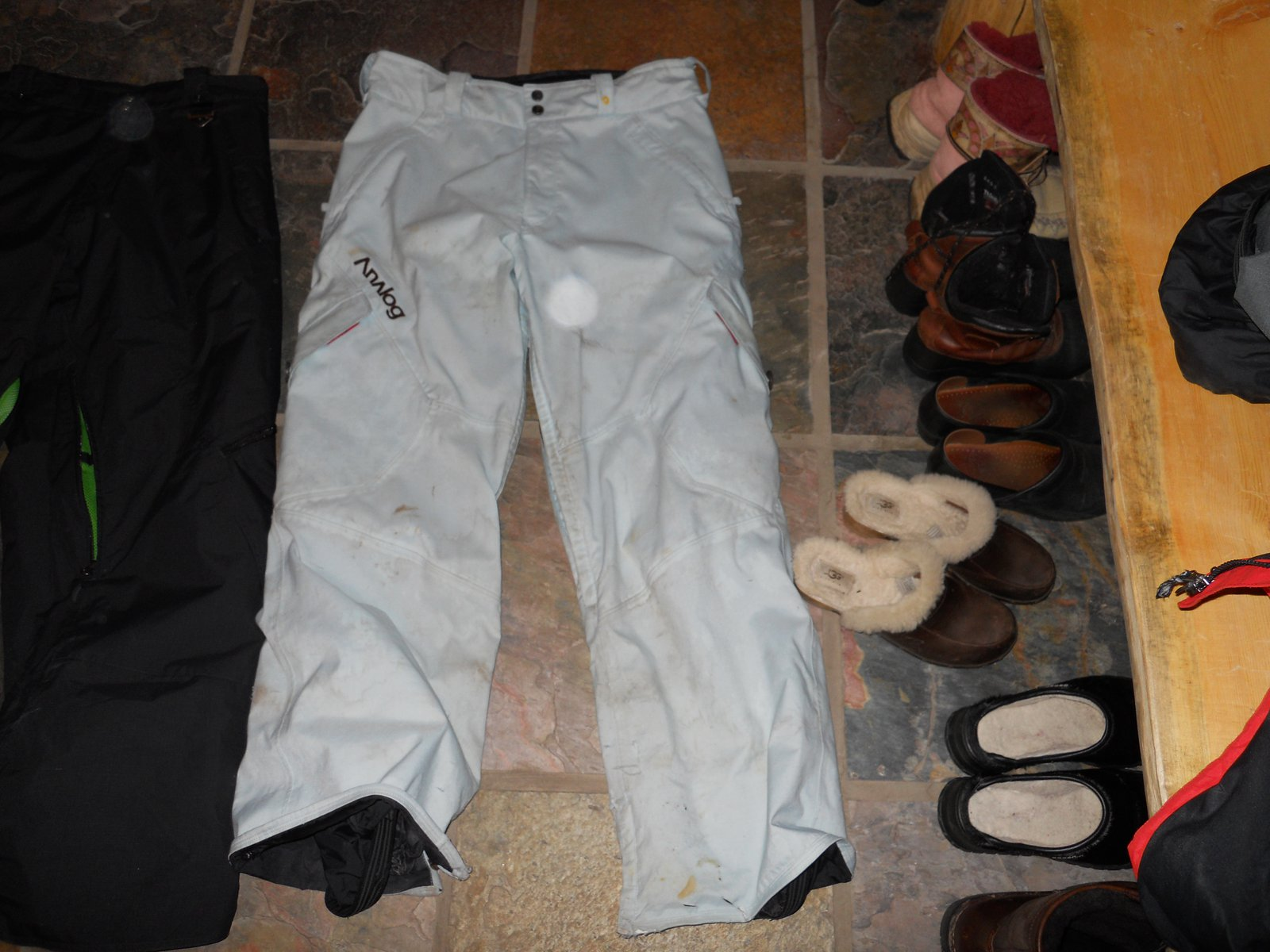 Blue analog pants for sale