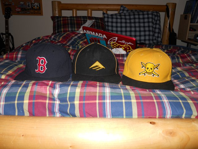 3 hats for sale