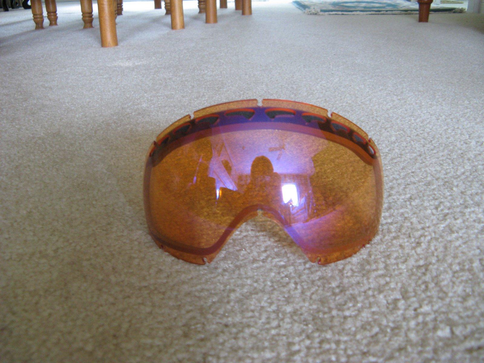 Oakley Crowbar H.I. Persimmon Lens