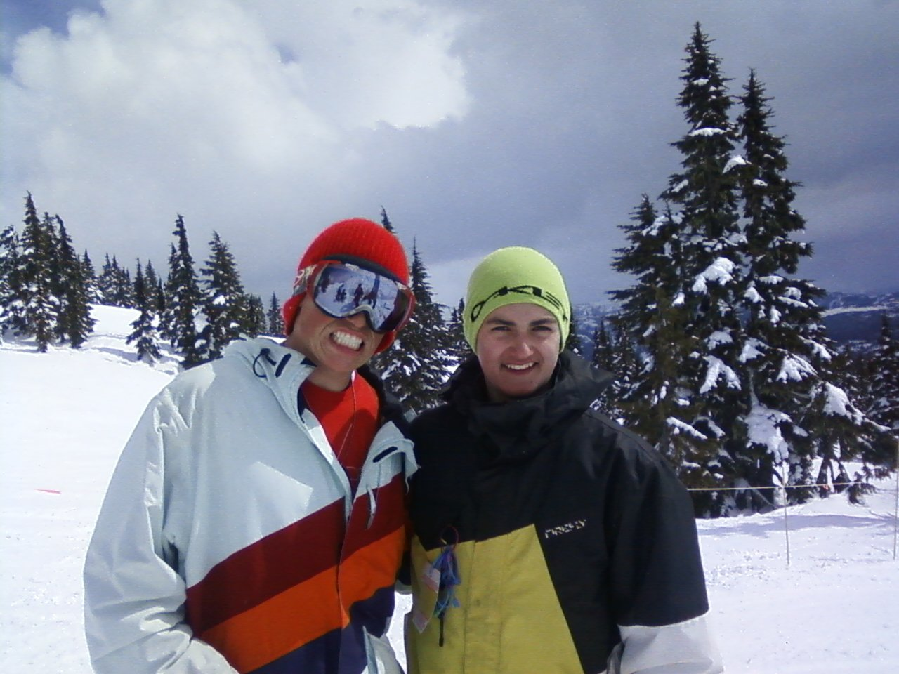 Me and Gus Kenworthy