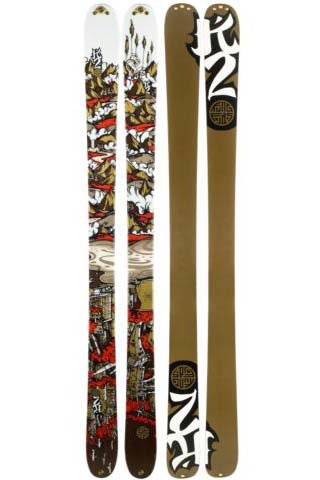 K2 Kung Fujas Skis